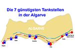 Die 7 günstigsten Tankstellen für Wohnmobile in der Algarve